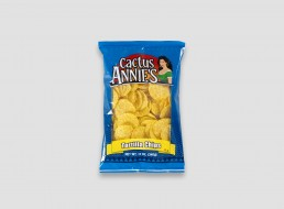 Cactus Annie's tortilla chip packaging design