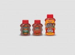Cactus Annie's sauce packaging design